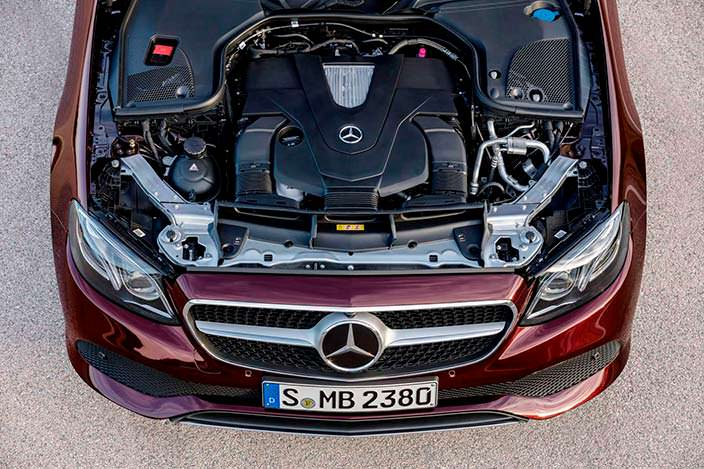 Двигатель Mercedes-Benz E-Class Convertible W213