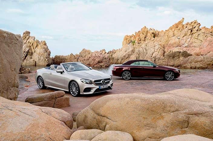 Кабриолет Mercedes-Benz E-Class Convertible нового поколения