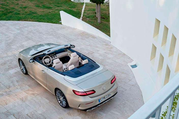 Новый кабриолет Mercedes-Benz E
