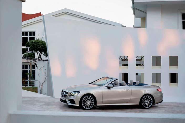 Новый кабриолет Mercedes E-Class W213