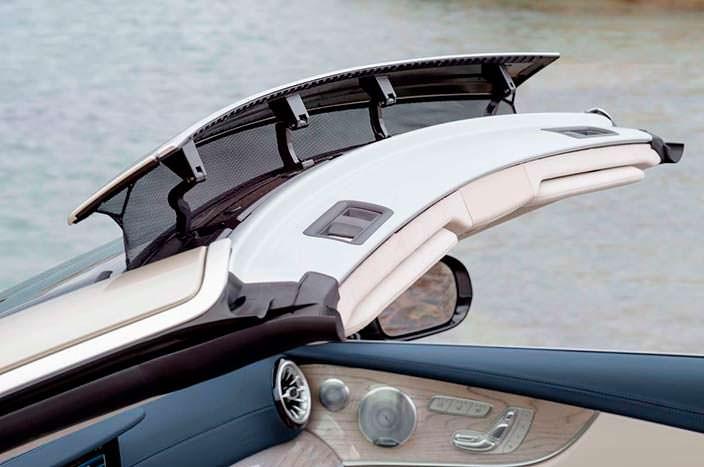 Ветрозащитный экран Mercedes-Benz E-Class Convertible