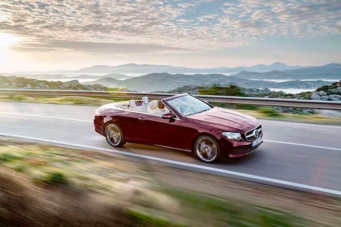 Новый Mercedes-Benz E-Class Convertible
