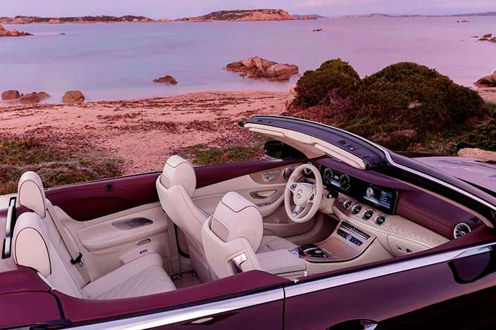 Кабриолет Mercedes W213