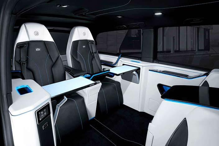 Кресла с электрорегулировкой в Mercedes V-Class от Brabus