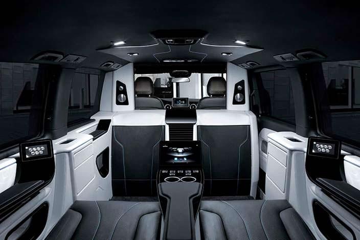 Тюнеры изBrabus презентуют чудный фургон Mercedes-Benz V-Class вЖеневе