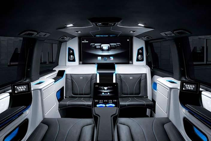 Салон Mercedes V-Class от Brabus