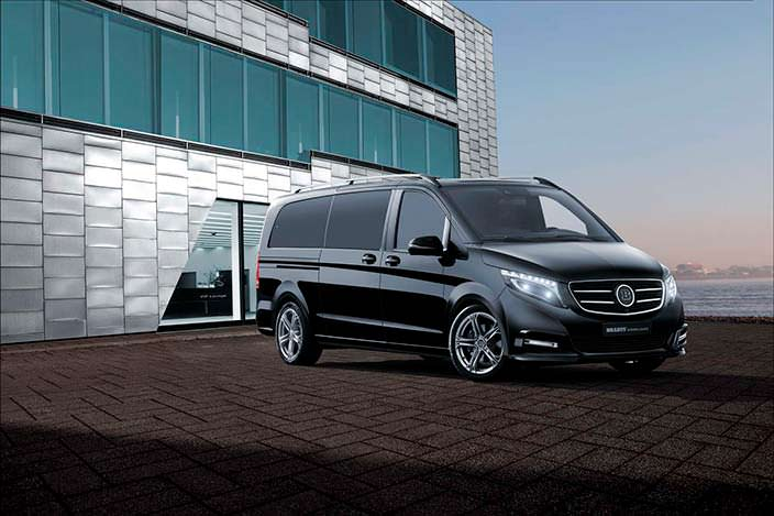 Бизнес-вэн Mercedes V-Class от Brabus