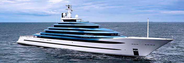 Oceanco Jubilee - самая большая яхта Голландии