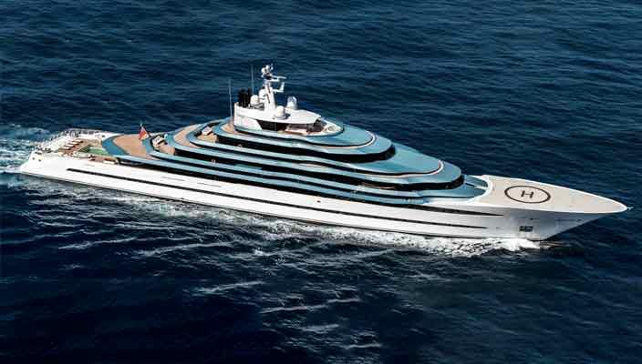 Oceanco Project Jubilee: крупнейшая голландская яхта в итории