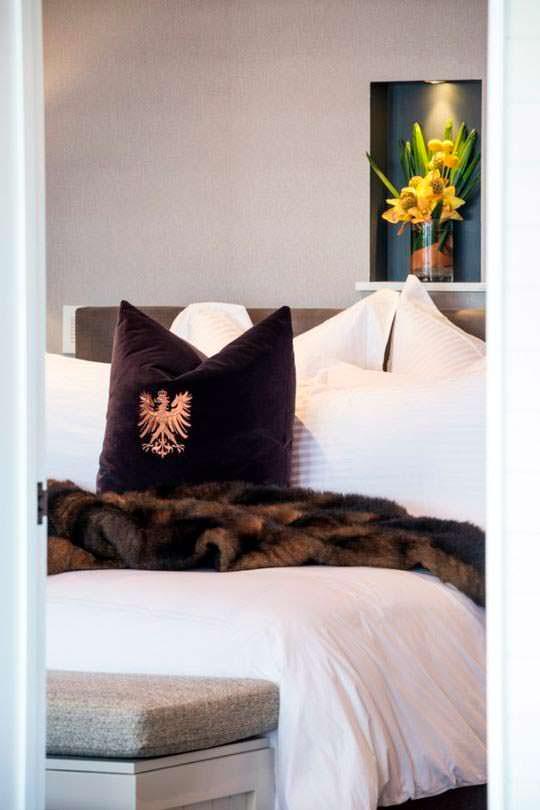 Спальня пентхауса