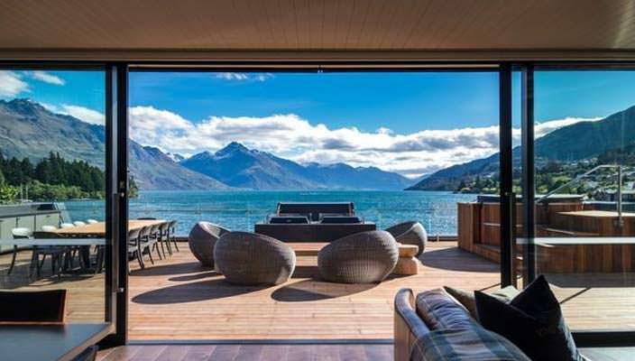 Пентхаус в Новой Зеландии за $10 000 в сутки | фото и видео