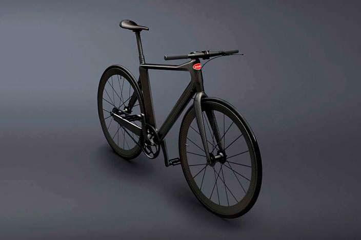 Карбоновый велосипед PG Bugatti Bike