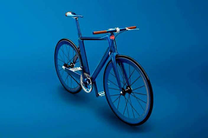 PG Bugatti Bike: самый дорогой велосипед фикс в мире