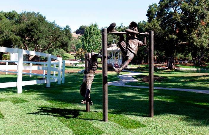 Ранчо Джексона реставрировали в 2005 году