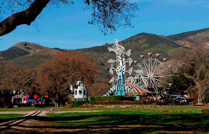 Парк развлечений на ранчо Джексона