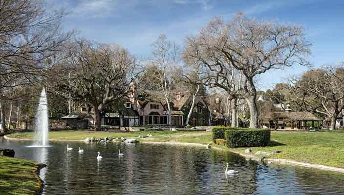 Ранчо Майкла Джексона Neverland продается | фото, цена, инфо