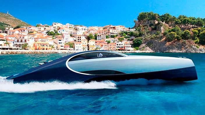 Спортивная яхта Bugatti Niniette 66