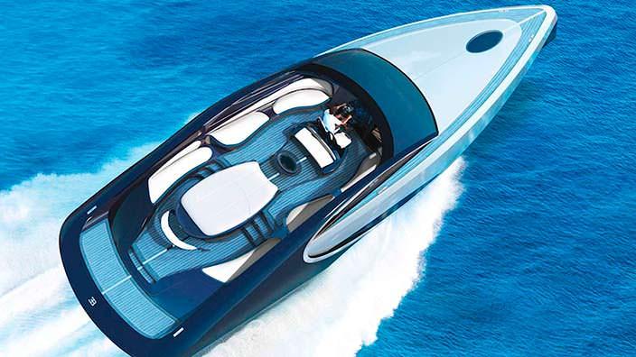 Открытая палуба Bugatti Niniette 66