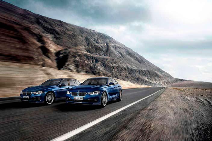 Универсал и седан BMW Alpina B3 S Bi-Turbo 2017