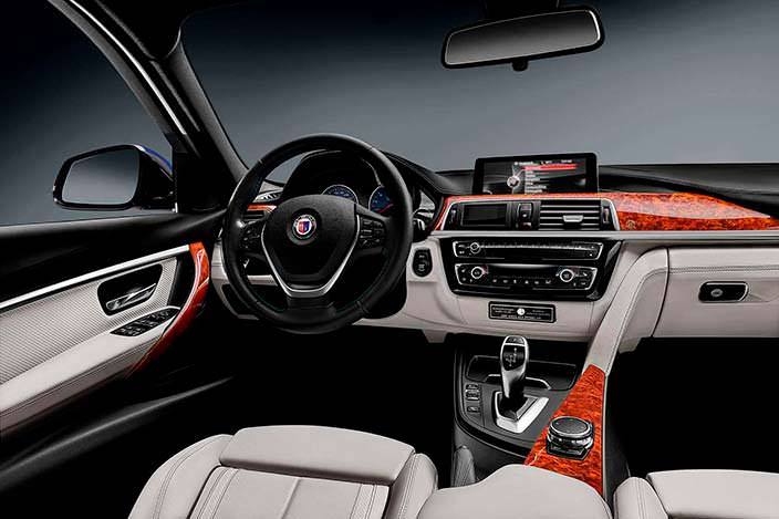 Салон BMW Alpina B3 S Bi-Turbo