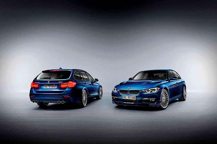 Универсал и седан BMW 3-Series. Тюнинг Alpina