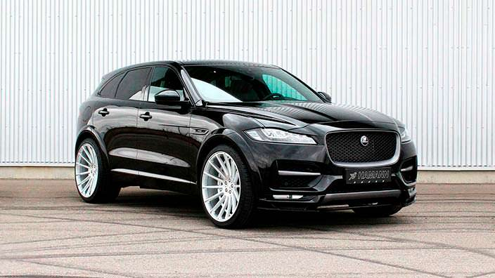 Тюнинг Jaguar F-Pace от Hamann