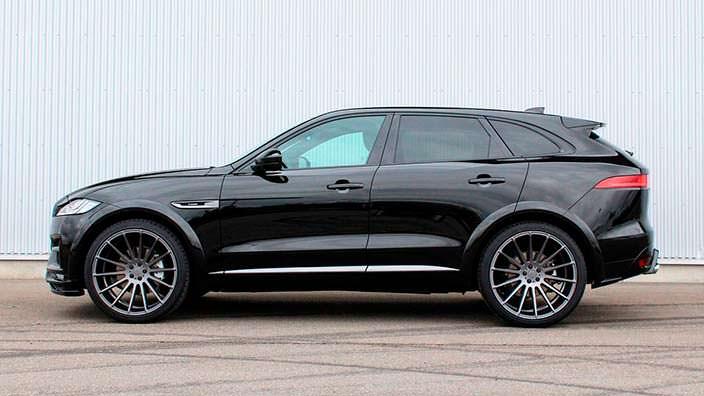 Jaguar F-Pace. Тюнинг Hamann