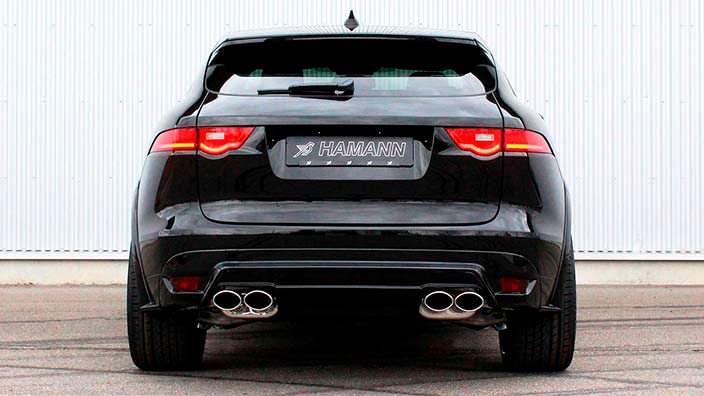 Диффузор Hamann для Jaguar F-Pace