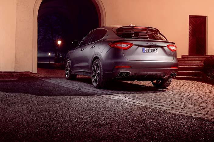 Фото | Тюнингованный Maserati Levante от Novitec