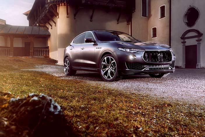 Кроссовер Maserati Levante в тюнинге от Novitec