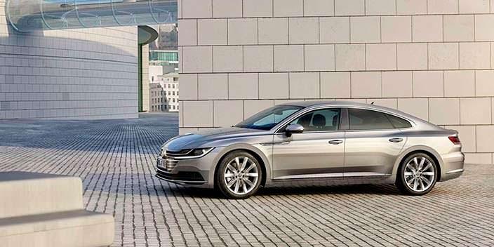Volkswagen Arteon. Кузов четырехдверное купе