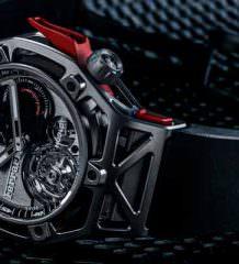 Hublot показал часы Ferrari Tourbillon в честь 70-летия
