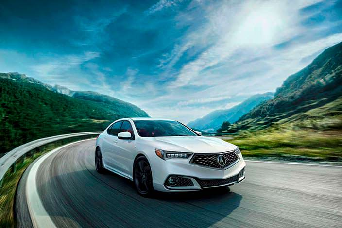 Фото | Спортивный седан Acura TLX рестайлинг 2018 года