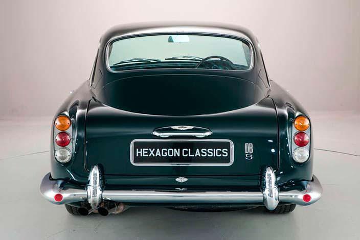 Фото | Aston Martin DB5: автомобиль за миллион долларов