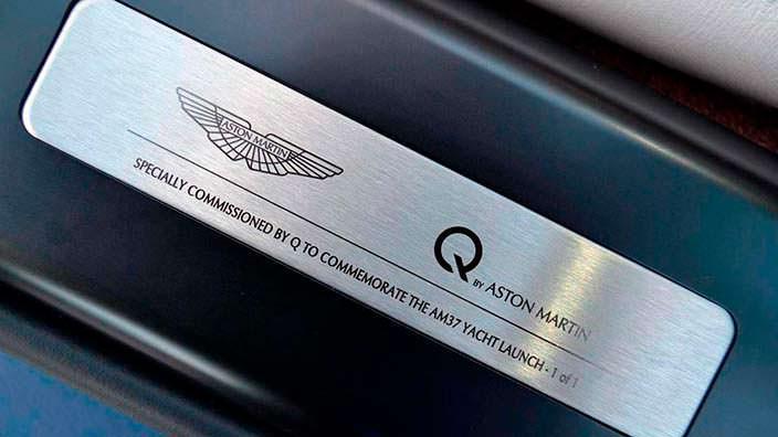 Фото | Единственный Aston Martin Vanquish Volante AM37