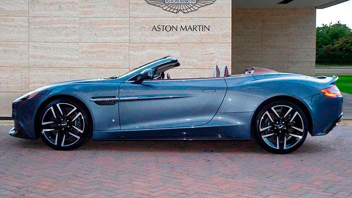 Фото | Родстер Aston Martin Vanquish Volante AM37