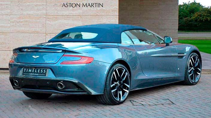 Фото | Родстер с мягким верхом Aston Martin Vanquish Volante
