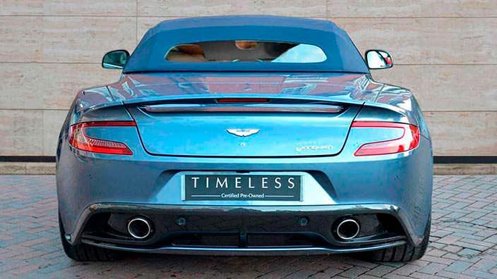 Фото | 1 из 1 Aston Martin Vanquish Volante AM37
