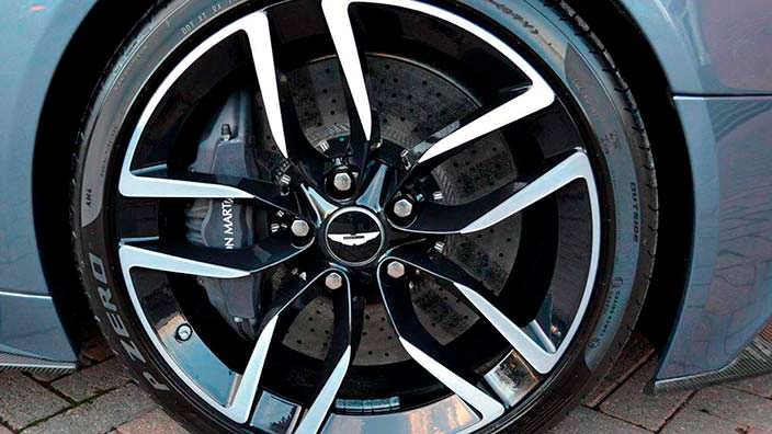 Фото | Диски Aston Martin Vanquish Volante AM37