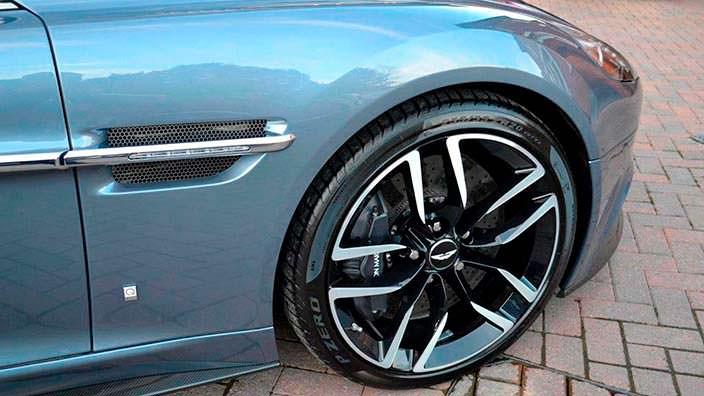Фото | Колеса Aston Martin Vanquish Volante AM37