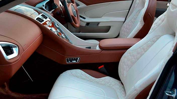 Фото | Интерьер Aston Martin Vanquish Volante AM37
