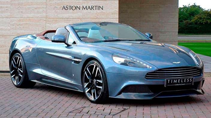 Фото | Aston Martin Vanquish Volante AM37, 1 из 1
