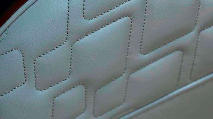 Фото | Обшивка сидений Aston Martin Vanquish Volante AM37