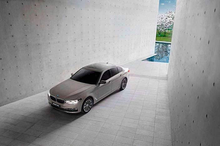 Новый BMW 5-Series Li. 2018 модельный год