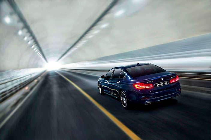 Новый BMW 5-Series Li для рынка Китая