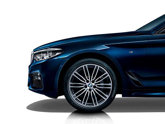 Многоспицевые колеса BMW 5-Series Li 2018 года