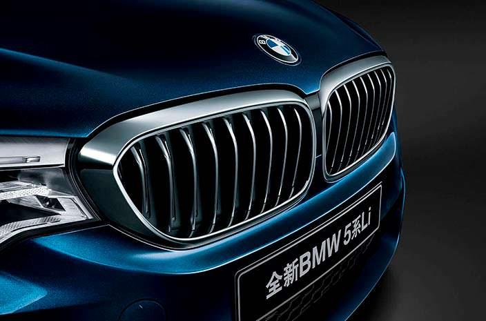 Радиаторная решетка BMW 5-Series Li 2018 года