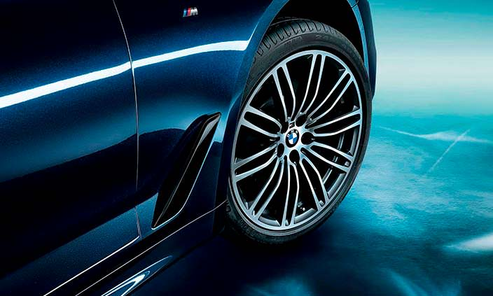 Дизайн колес БМВ 5-Серии Li 2018 года
