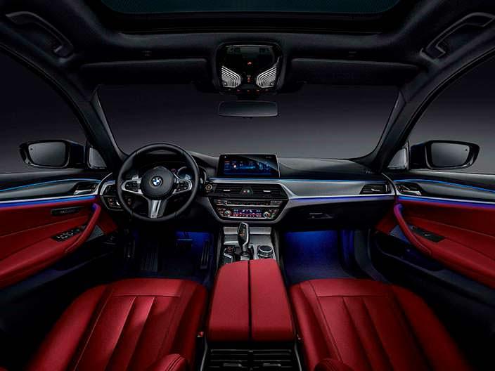 Фото салона BMW 5-Series Li 2018 года