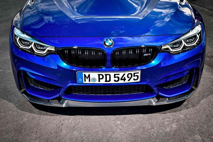 Фото | 2018 BMW M4 CS: радиаторная решетка